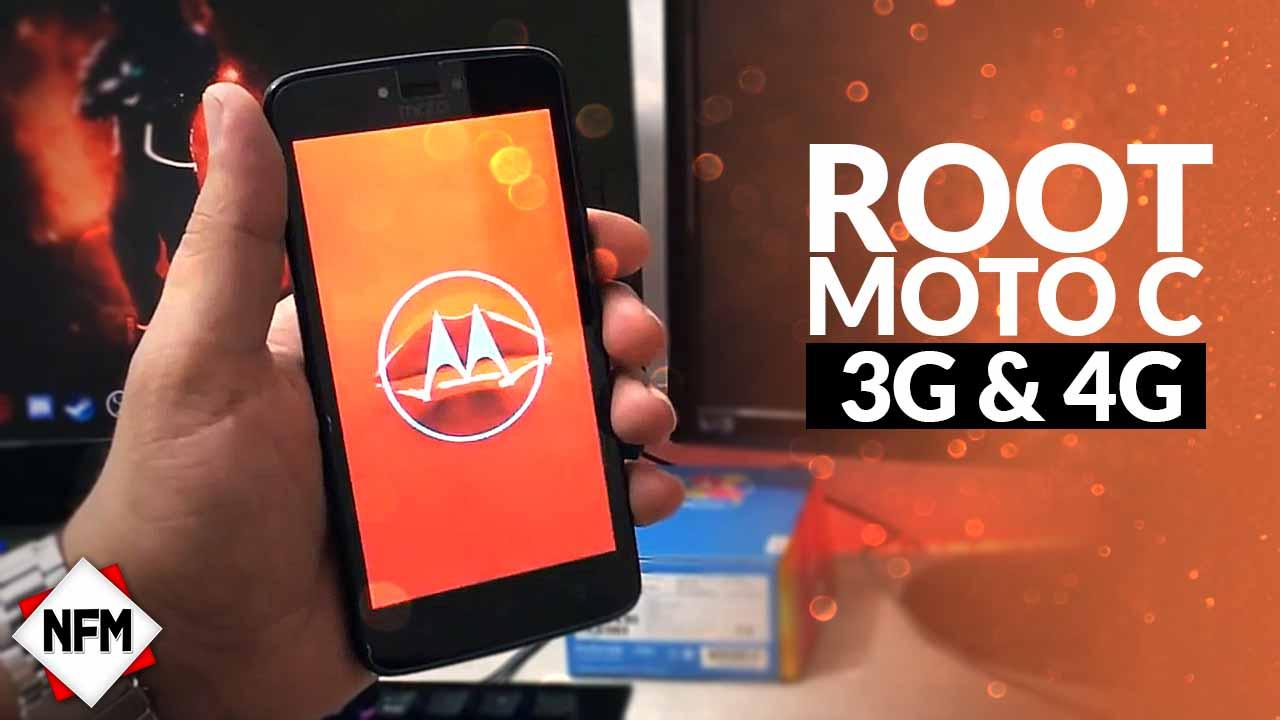 ROOT PARA MOTO C (3G/4G)