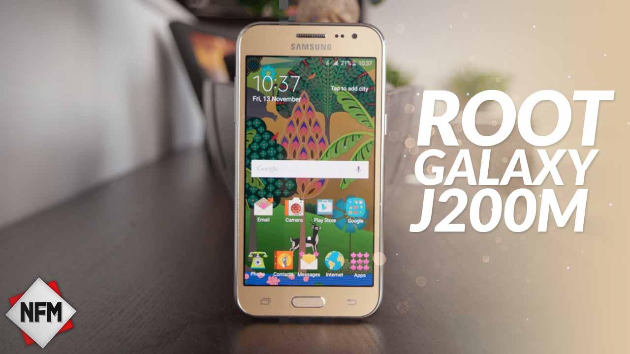 Root Para Samsung Galaxy J200M