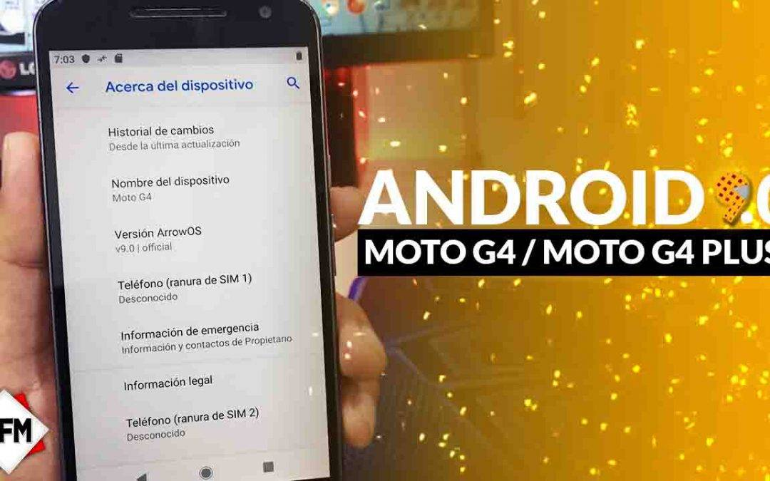 Actualizacion Android 9.0 Para Moto G4/G4 Plus – lineage os