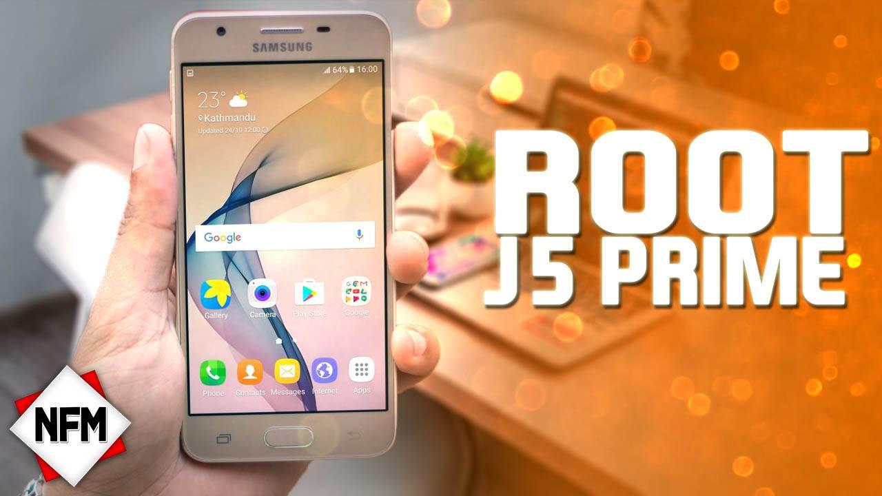 Root Para Samsung Galaxy J5 prime ANDROID 7.0