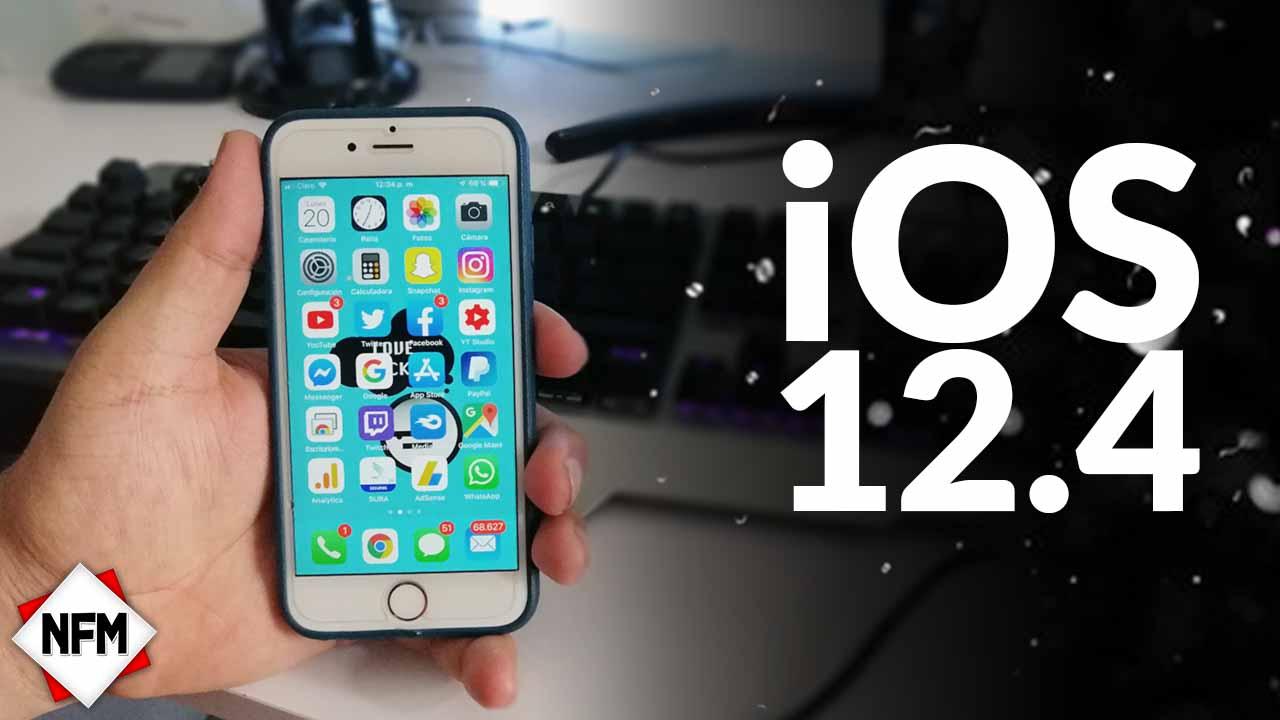 Como Instalar iOS 12.4 Beta 2 Para iPhone y iPad
