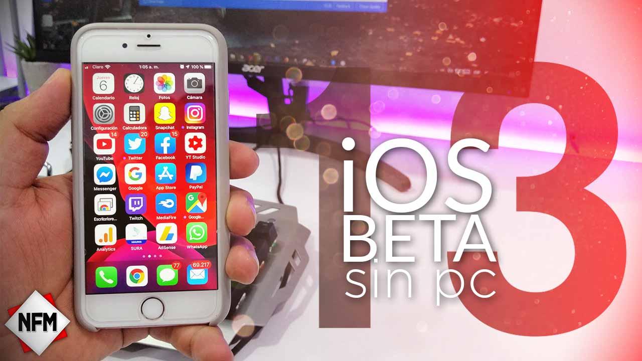 Como Descargar e instalar iOS 13.2 Sin Pc – Apple