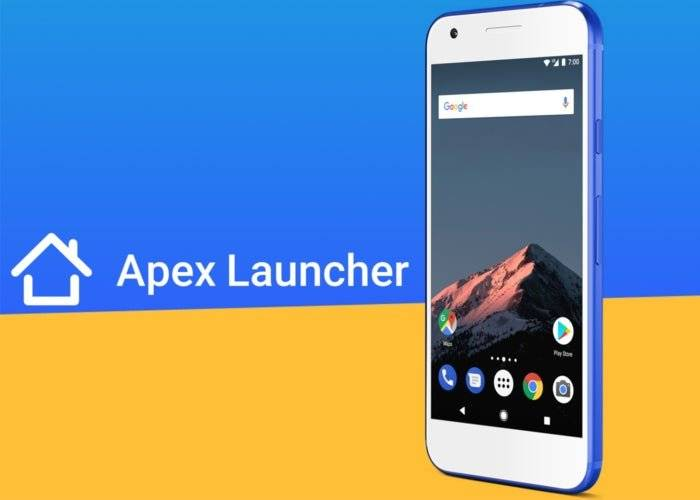 Apex launcher v.4.9.11 Descarga apk
