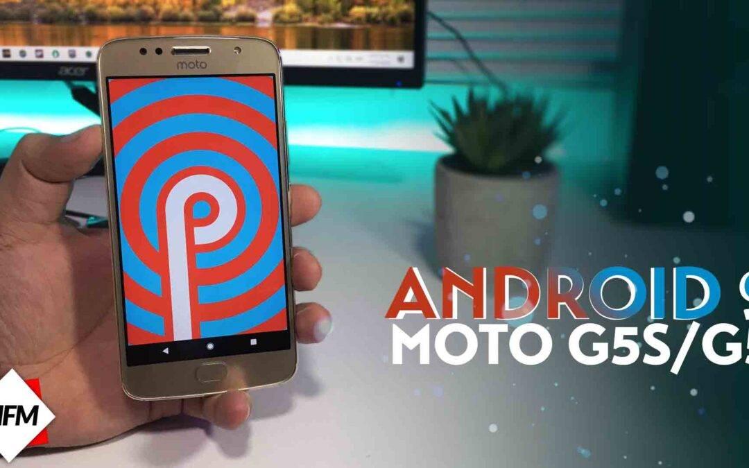 ANDROID 9.0 PARA MOTO G5 Y MOTO G5S – CUSTOM ROM ESTABLE