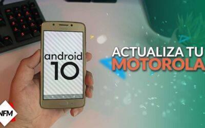 Como Actualizar mi Motorola G5/G5S/PLUS a Android 10