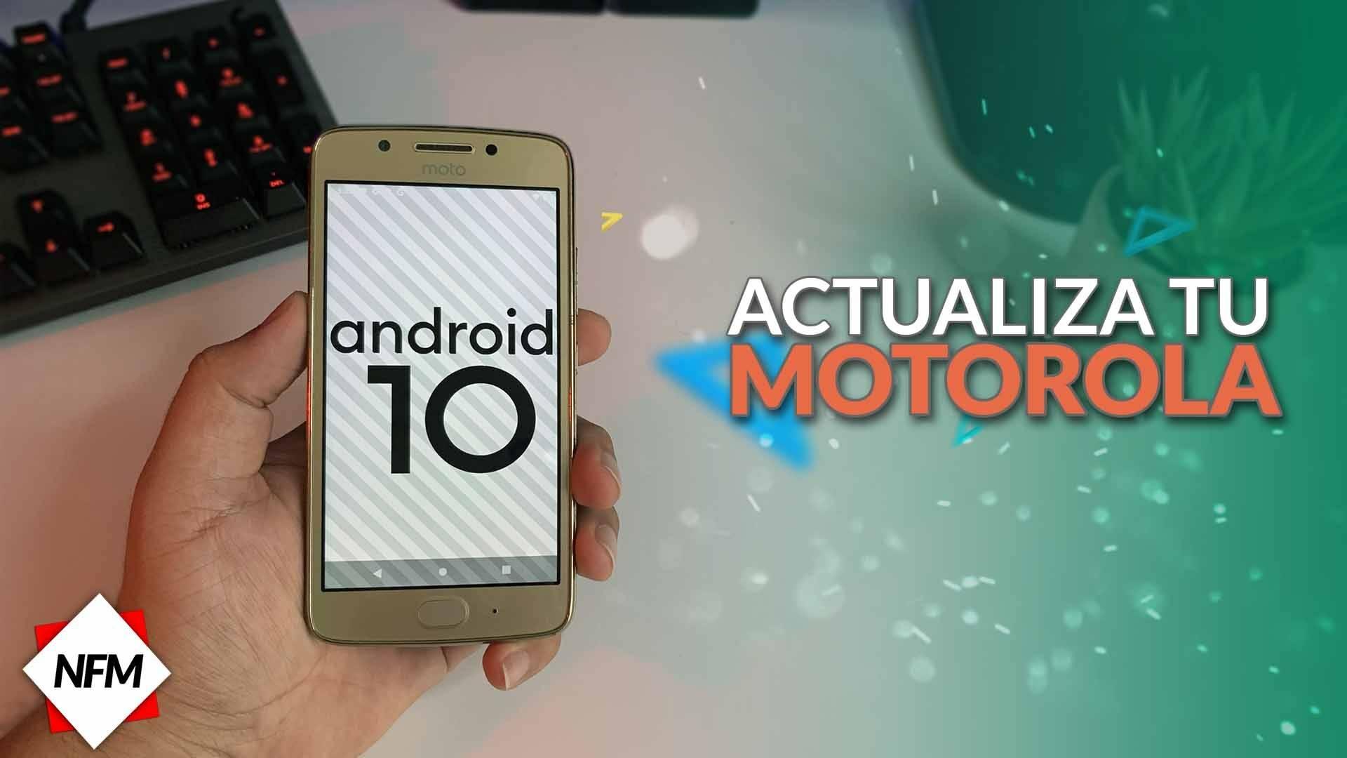 Como Actualizar mi Motorola G5/G5S/PLUS a Android 10 5