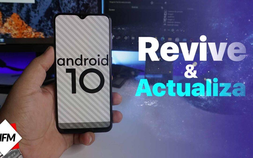 Samsung Galaxy A30S| Actuliza a Android 10 | revivelo si no enciende | instala firmware|
