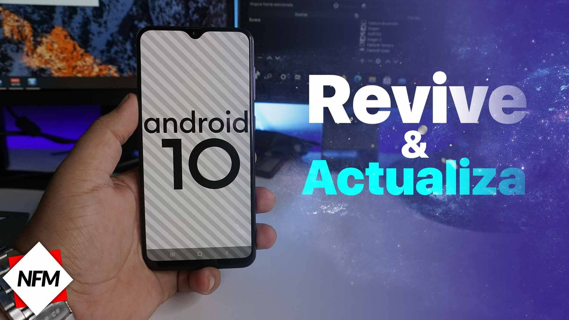 Samsung Galaxy A30S (A307G/f/fn/gn)  Actuliza a Android 10   revivelo si no enciende  firmware   Version actulizada 2021 2