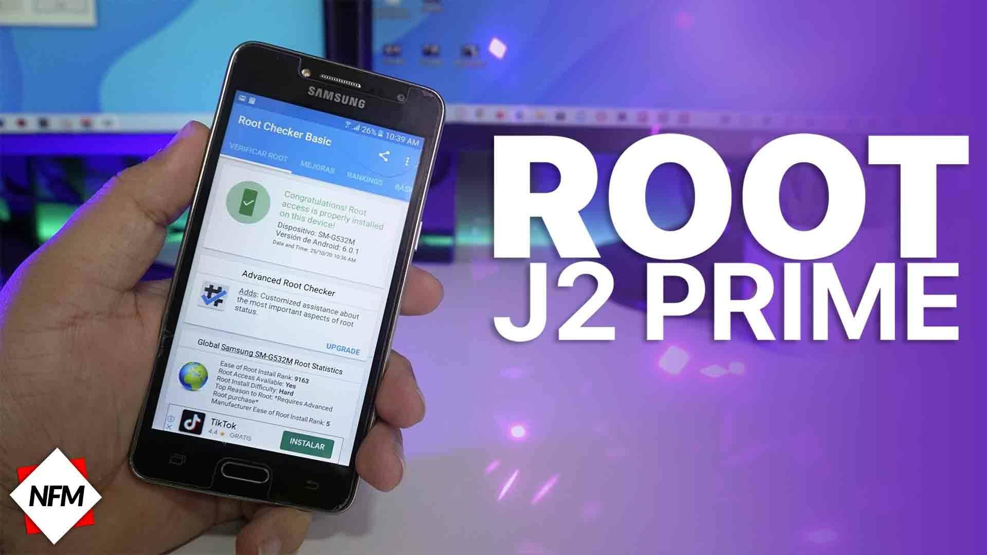 Como Rootear mi J2 PRIME (G532M) Nuevo método muy fácil 1