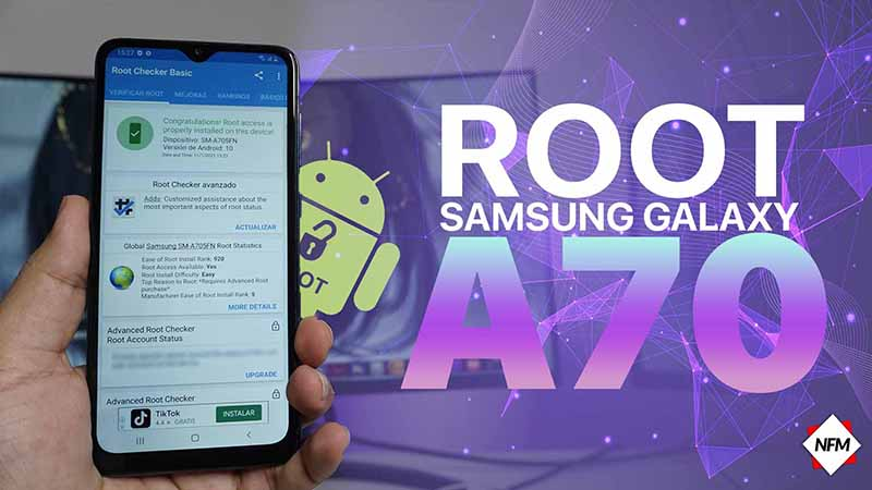 Root para samsung galaxy A70 (A705FN/ds / A705MN) one ui 2.5 Android 10 2