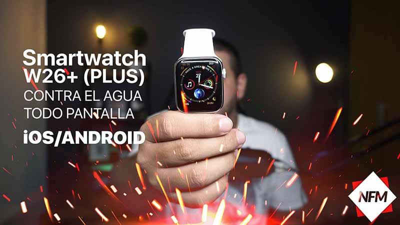 El mejor Smartwatch IWO W26+ (plus) caracteristicas, precio y compra (Linio, mercadolibre, amazon)