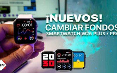 Wallpapers para smartwatch W26+ & PRO | Descarga e instalar los mejores fondos de pantalla.