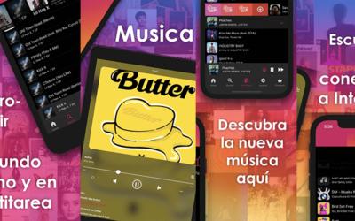 Como descarga musica en tu iphone y iPad sin pc con esta  MUSICA XM INTERNET CONEXION