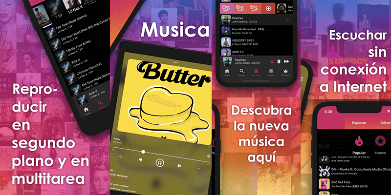 Como descarga musica en tu iphone y iPad sin pc con esta MUSICA XM INTERNET CONEXION 1