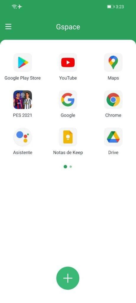 Como instalar play store, youtube, google y mas en un huawei y móviles que no tenga tienda   con GSPACE APK 33